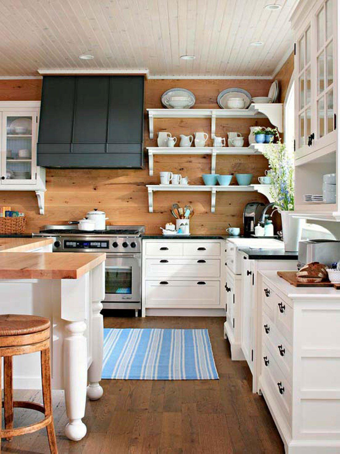 Kitchen Open Shelving Corner Google Search