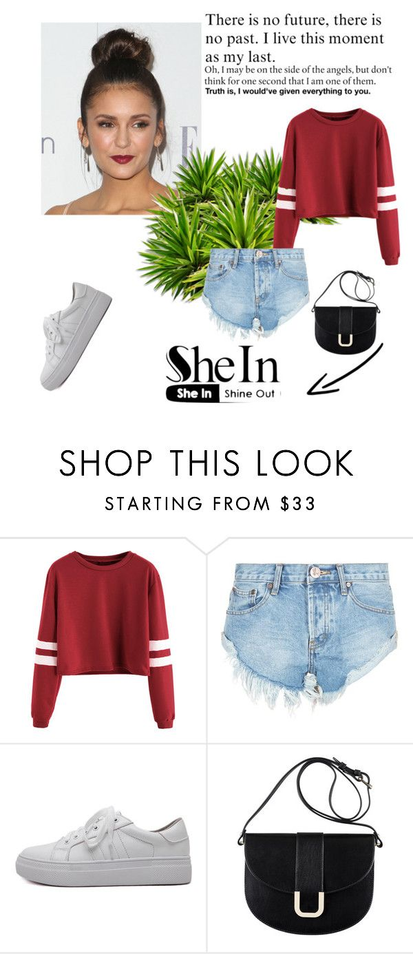 """""""Untitled #46"""" by flyaway1 ❤ liked on Polyvore featuring OneTeaspoon, WithChic and A.P.C."""