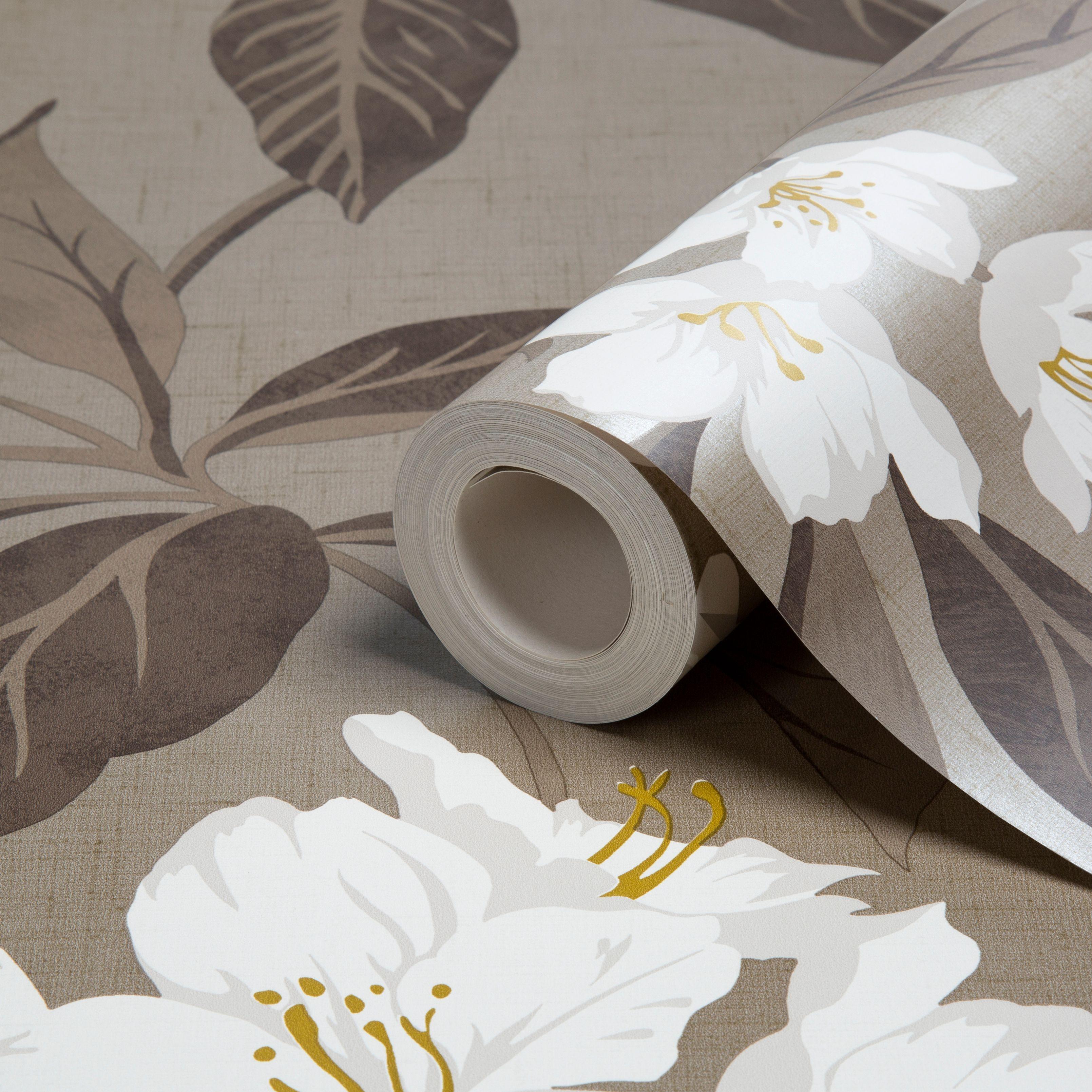 hawaii chocolate & cream wallpaper | departments | diy at b&q | my