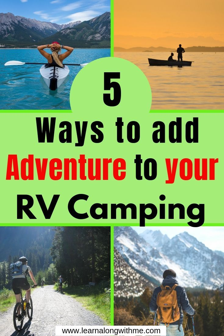 Photo of How to Get out of your RV and Enjoy Nature: RV Outdoor Adventure Ideas – Learn Along with Me