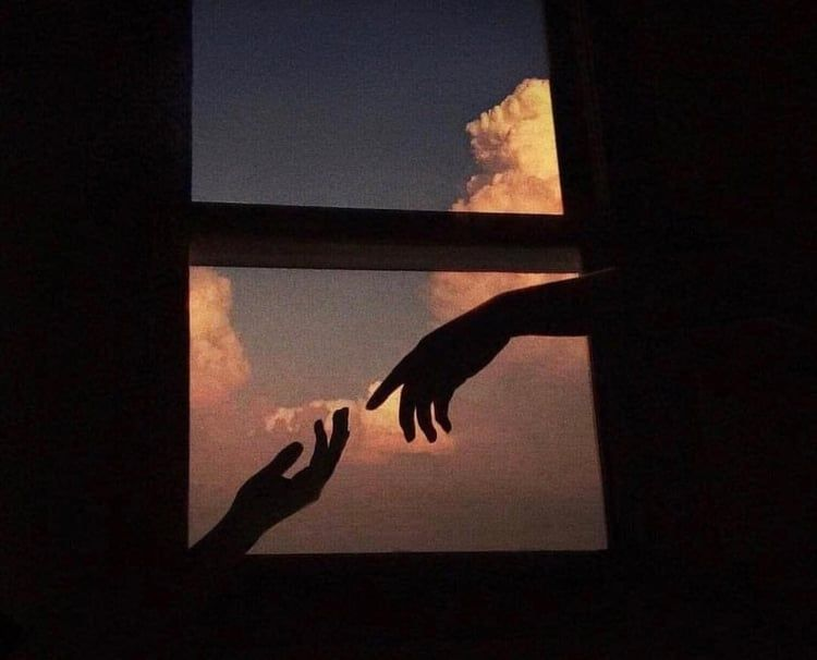 Alternative Aesthetic Sky Art Hands Painting Clouds Cute Https Weheartit Com Entry Aesthetic Wallpapers Aesthetic Photography Aesthetic Backgrounds