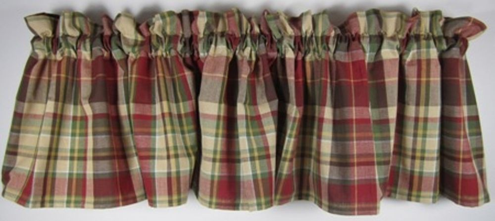 Details About Country Heartfelt Valance Perisimmon Mustard