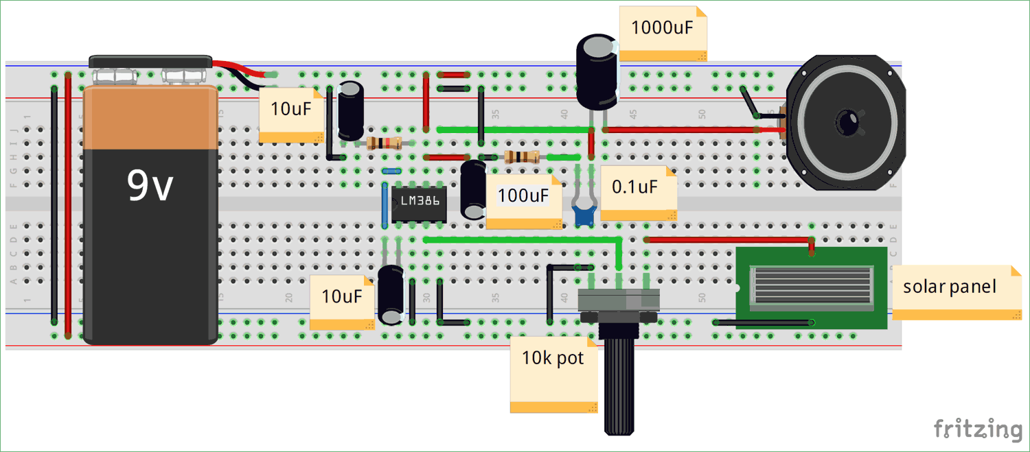 Circuit Diagram For Audio Transfer Using Led And Li Fi Technology Circuits Projects Electronic