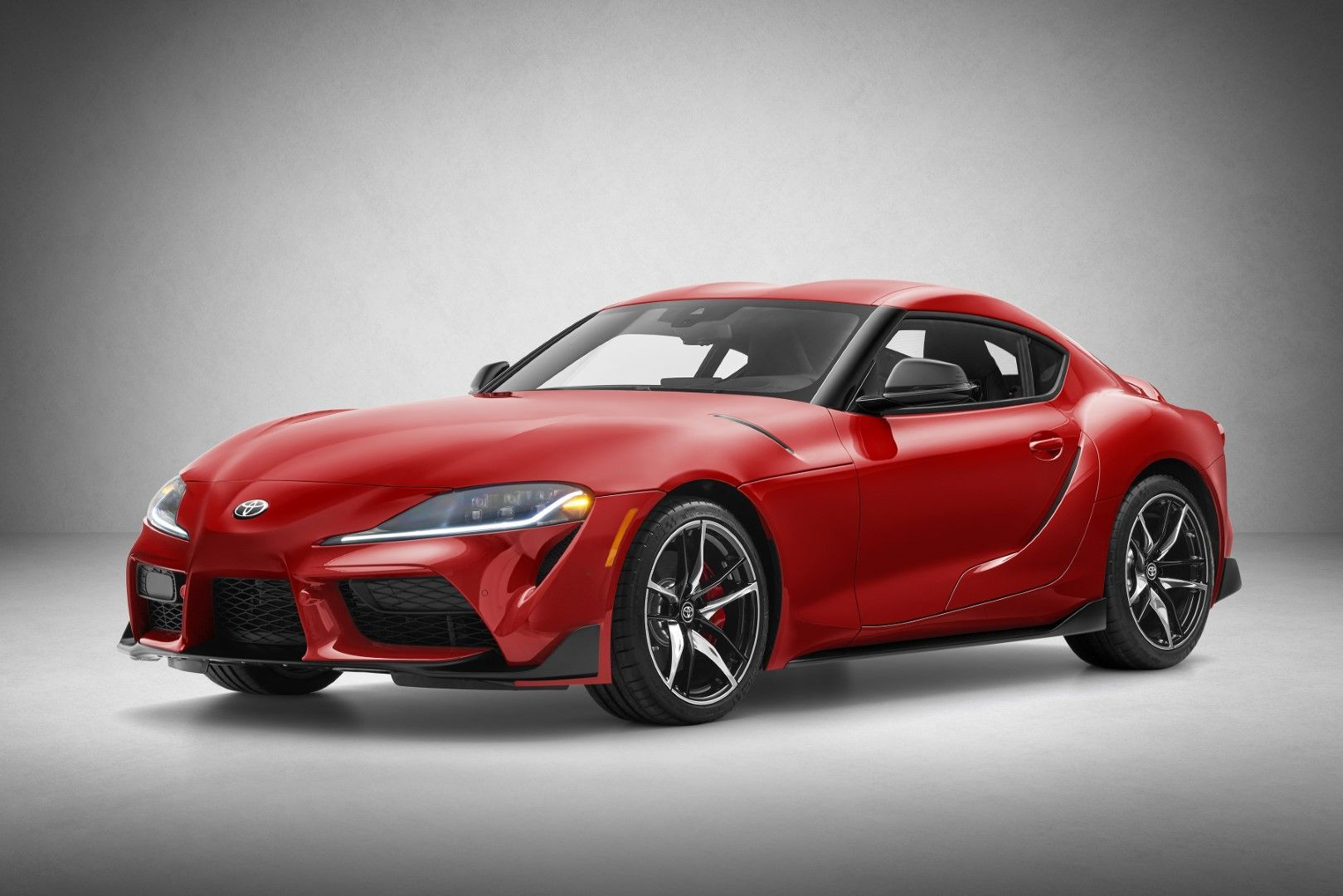 2020 Toyota Supra North American Model 3 0 Liter Turbocharged Inline Six With 335 Hp And 365 Lb Ft Of Torque Toyota Supra New Toyota Supra Toyota Usa