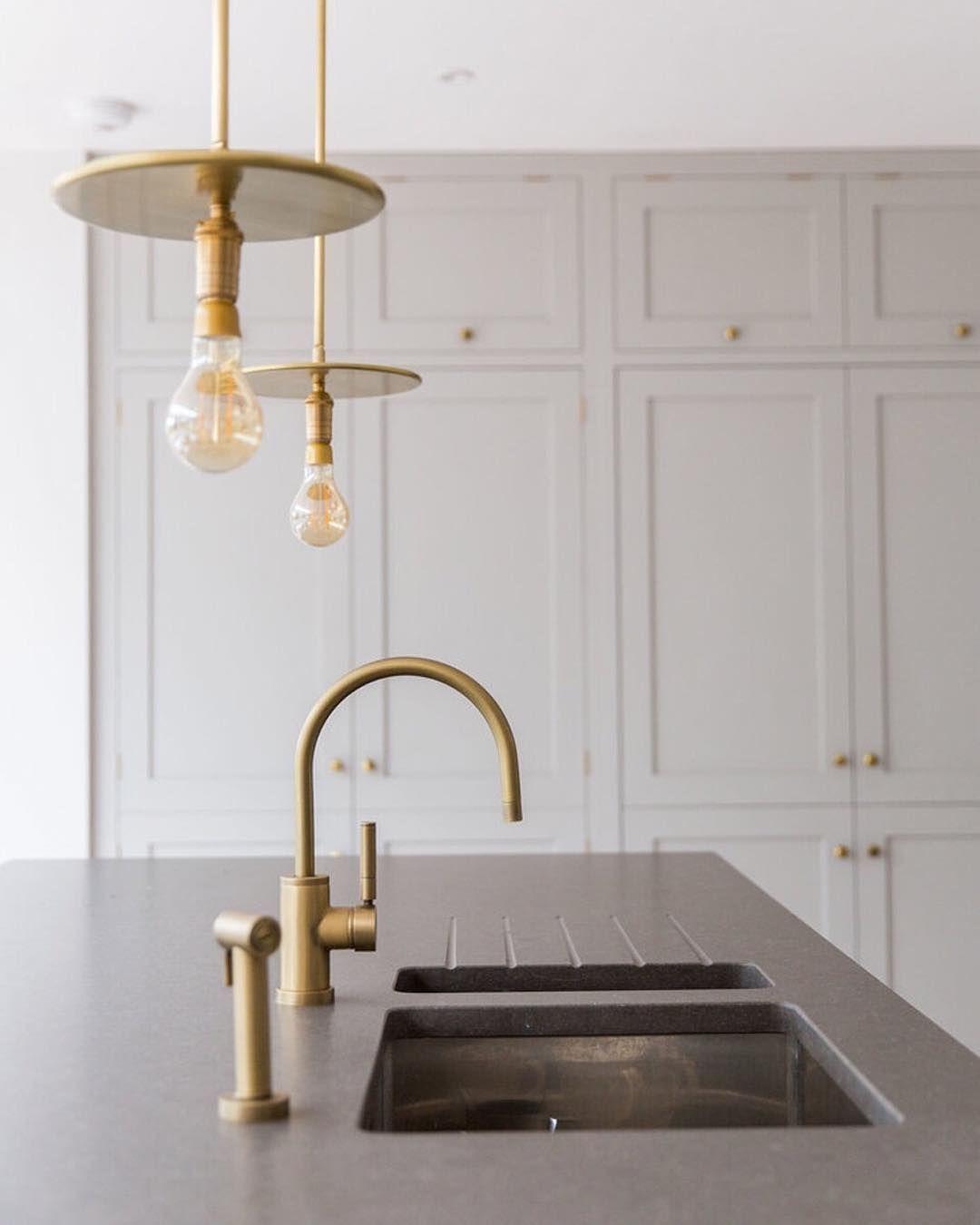 Kitchen Design Kent: Modern Country Kitchen Details. Shown Is Our Loft LOF71