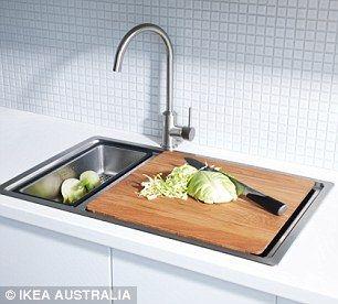 Awesome Space Saving Kitchen Sink   Kitchen Design Ideas