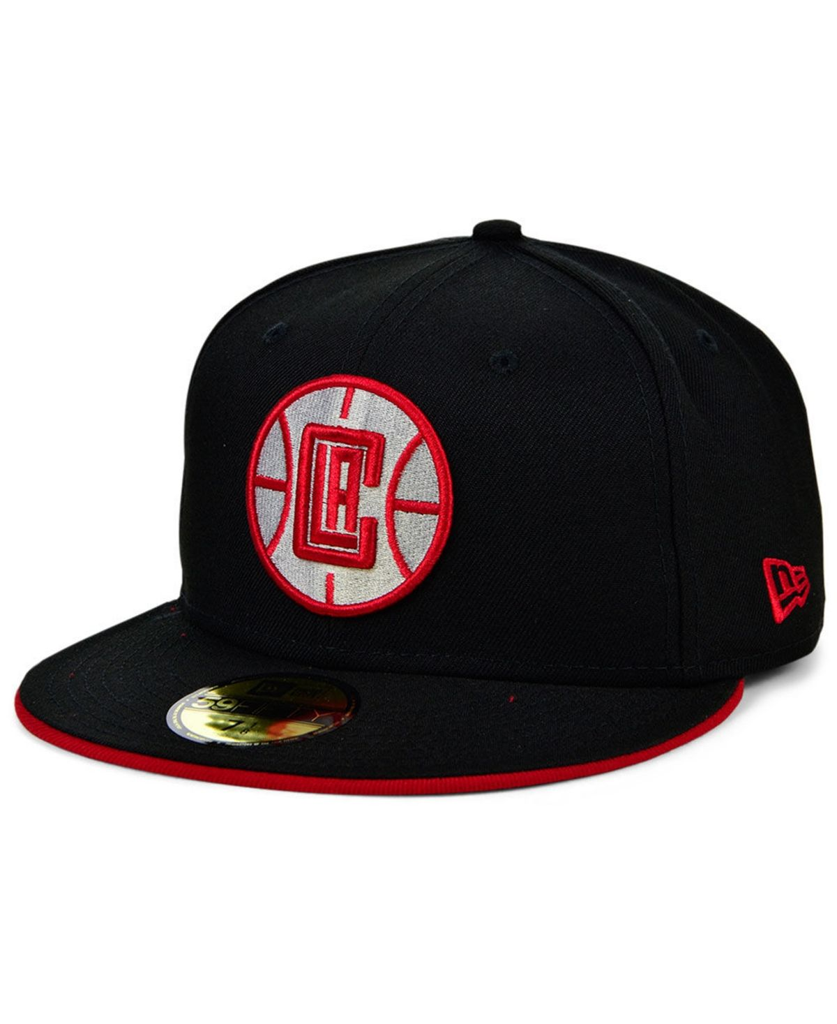 New Era Los Angeles Clippers Bred Collection 59fifty Fitted Cap Reviews Sports Fan Shop By Lids Men Macy S In 2021 Hats For Men New Era Los Angeles Clippers