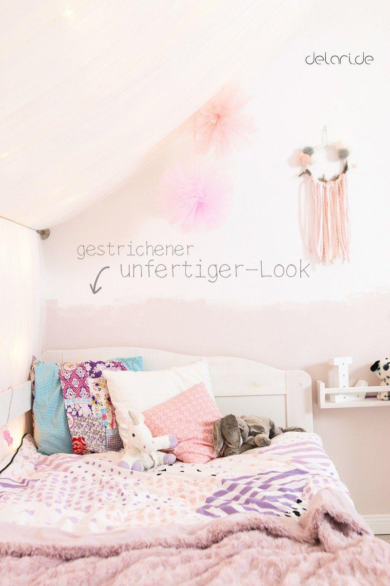 Kinderzimmer Ideen Mädchen DIY Basteln Traumfänger Jugendzimmer Streichen
