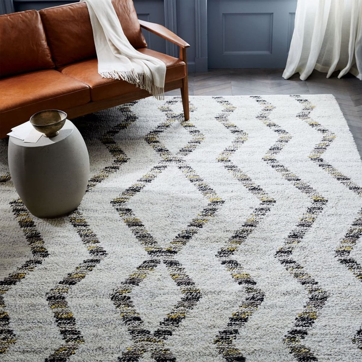 West Elm Blue And White Rug: Dhurrie Rugs West Elm