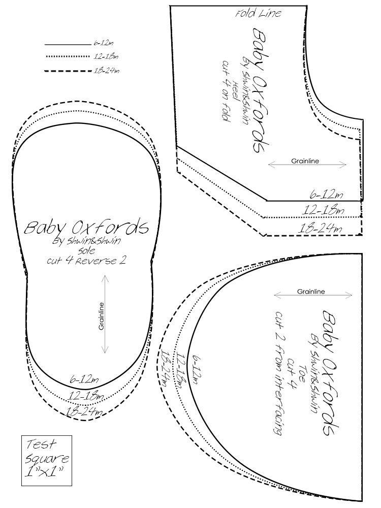 molde de sapatinho de bebe em tecido - Pesquisa Google | sapatinhos ...