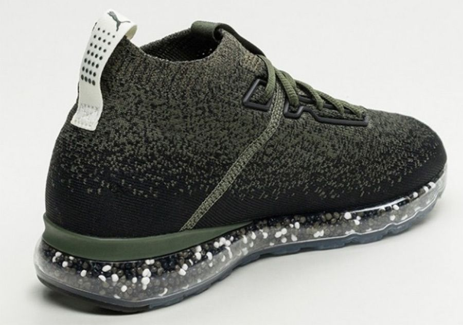 size 40 733bf ce3f8 Puma Jamming Cushion Forest Night Sneakers Sketch, Green Shoes, Black  Shoes, Athletic Trends
