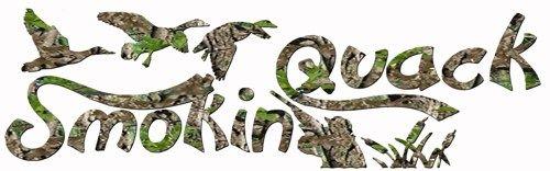 Camouflage Smokin Quack Duck Hunting Hunt Redneck Vinyl Decal Sticker | LilBitOLove - Housewares on ArtFire