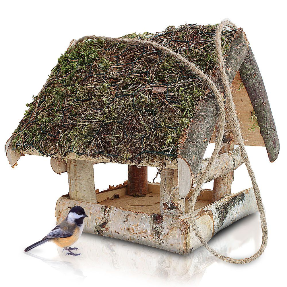 Nistplatz Brutkasten Nistkasten Vogelhaus Futterhaus Vogelhäuschen Birke  KP 21 In Garten U0026 Terrasse, Dekoration, Vogelhäuser | EBay More