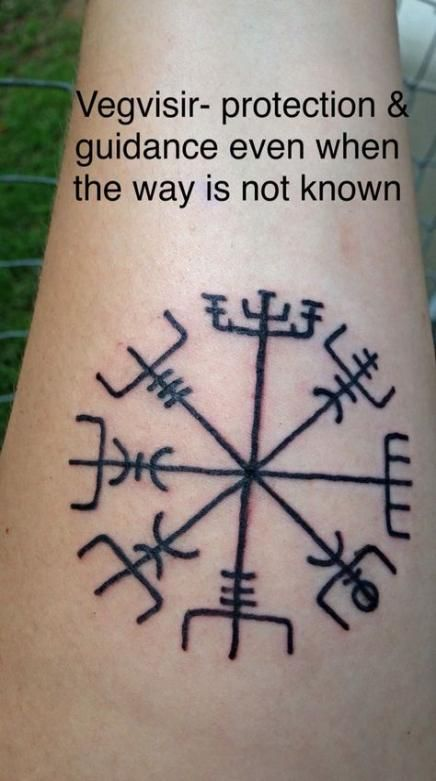 42+ Trendy Ideas For Tattoo Sleeve Viking Symbols #vikingsymbols