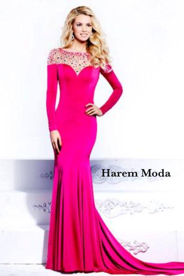 Handmade Applique Mesh Chiffon Long Evening Dress | CLOTHES | Pinterest
