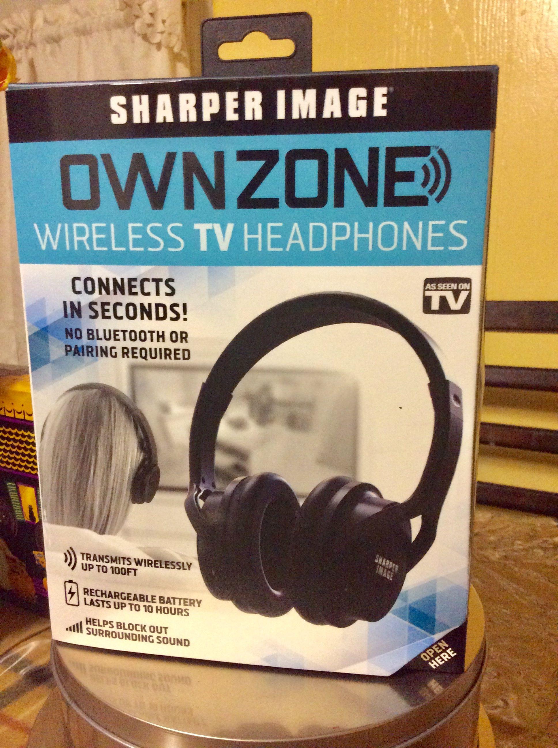 Sharper Image Ownzone Wireless Tv Headphones Priscilla De Leon