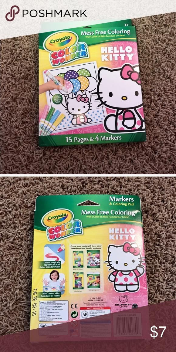 Crayola Hello Kitty color wonder Brand new, never opened ...
