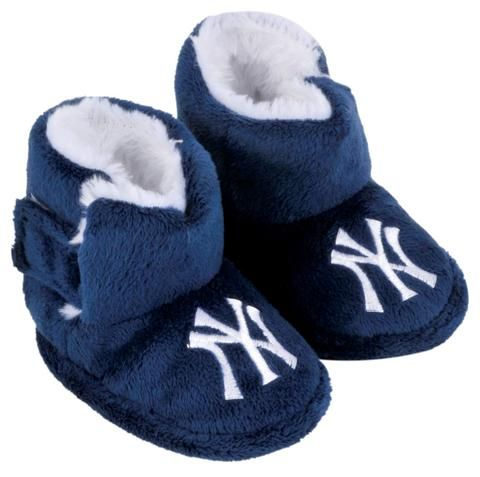 f4f9798a New York Yankees Slippers - Baby High Boot | MLB Sports Fan Merch ...