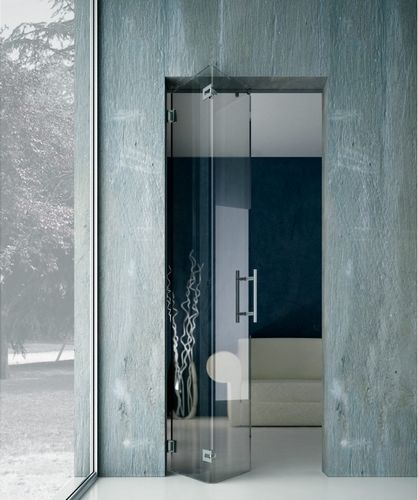 Superior Faltbare Tür / Glas L 2600 METALGLAS Nice Ideas