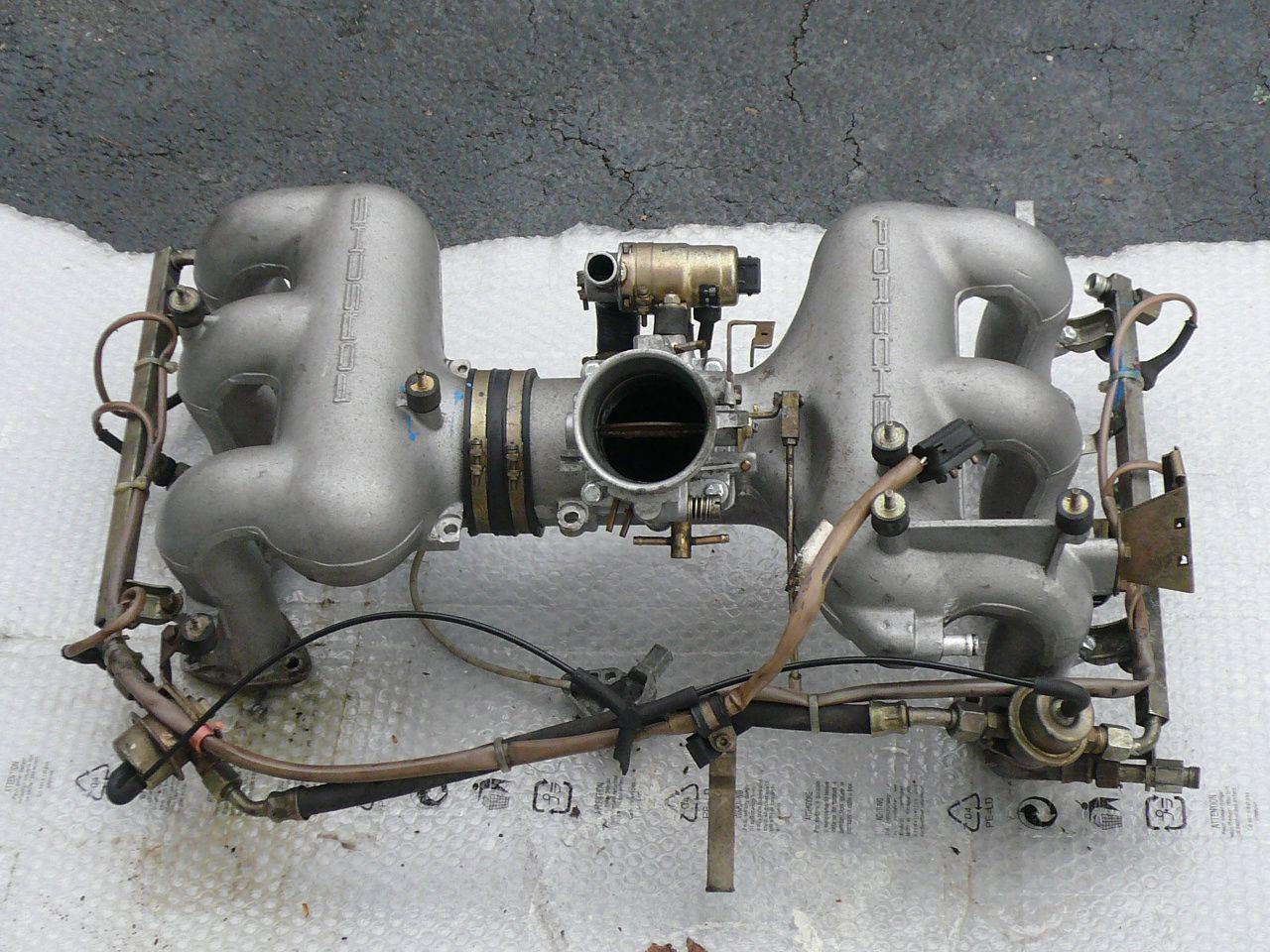 Porsche porsche boxster 3.2 engine : porsche 930 3.2 intake fuel rail - Google Search | Porsche Engine ...