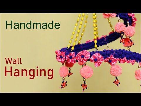 Handmade Wall Hanging Idea || How to make wall Hanging At Home ...