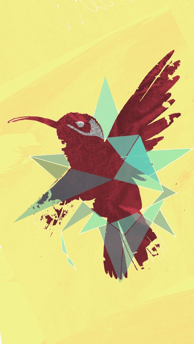 Abstract Bird Best IPhone Wallpapers
