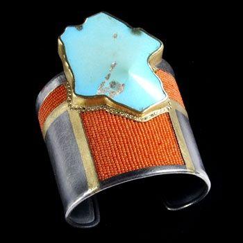 michael zobel jewelry cuffs | Cuff | Michael Zobel. Oxidized Sterling ... | J: Cuffs, Bracelets ...