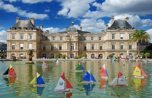 Weekend insolite luxembourg bateaux voiliers jeu enfants - Jardin du luxembourg enfant ...