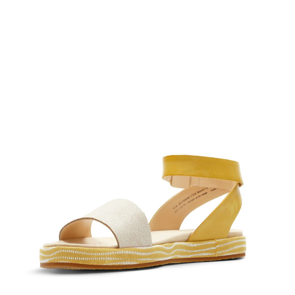 c2b82f49fa8f Clarks Botanic Ivy - Womens Sandals Yellow Combination 7