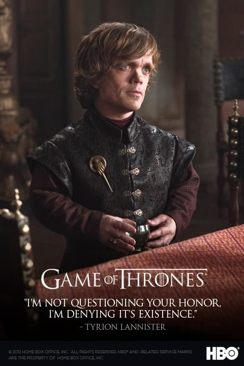 tyrion lannister quotes - Google Search