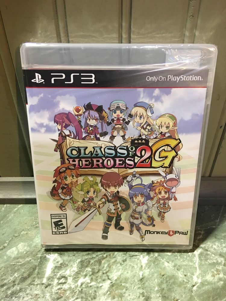 Class of Heroes 2G (Sony PlayStation 3, 2014) C Variant