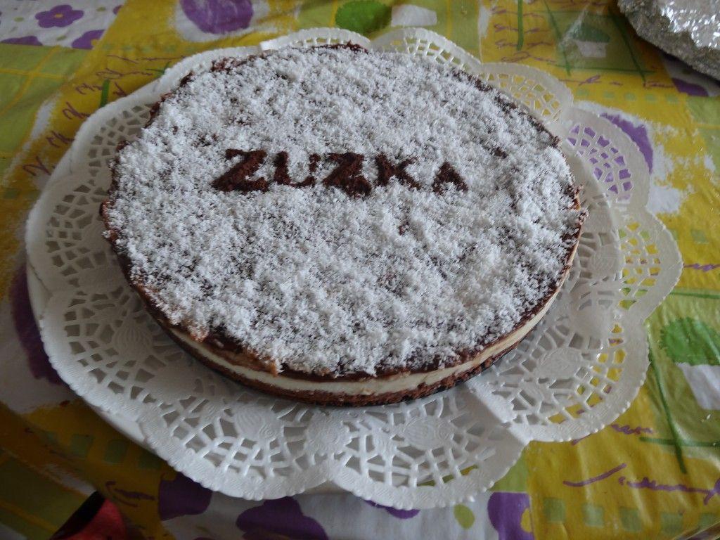 Kokosový cheesecake s nutelou BEZ PEČENÍ NejRecept.cz