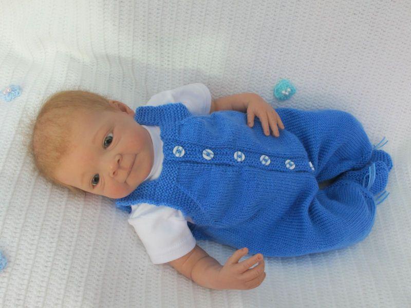 Strickanleitung Gr.50/54 Baby 4-teilig ULLI