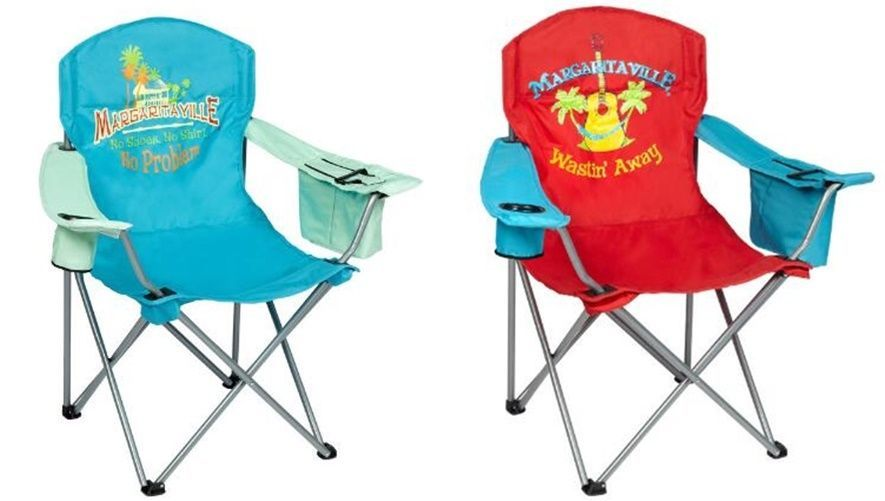 Stupendous Margaritaville Wastin Away No Problem Folding Quad Chair Gmtry Best Dining Table And Chair Ideas Images Gmtryco