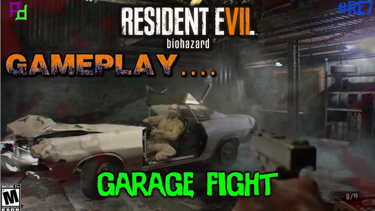 Garage Fight With Jack In Resident Evil 7 Biohazard Resident