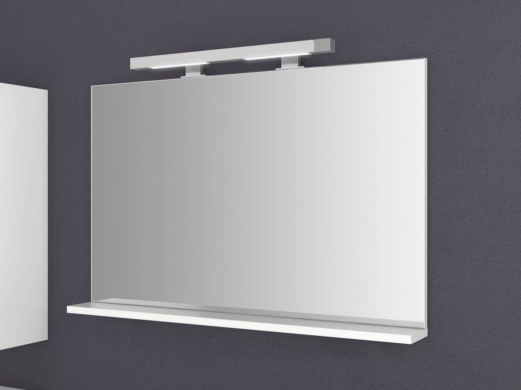 Badezimmerspiegel Mit Ablage Und Licht Bestimmt Fur Home Di 2020