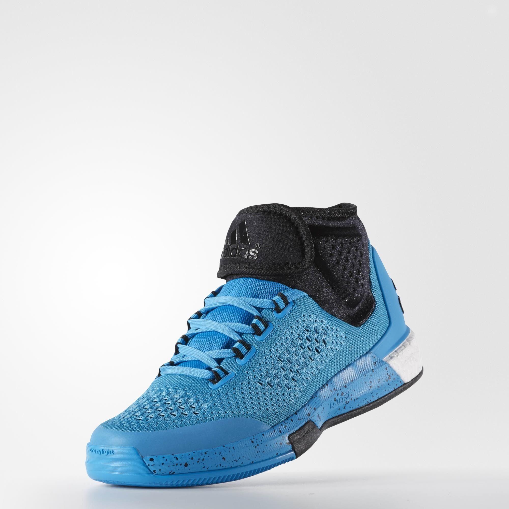 53d146343929 adidas 2015 Crazylight Boost Primeknit Shoes - Blue