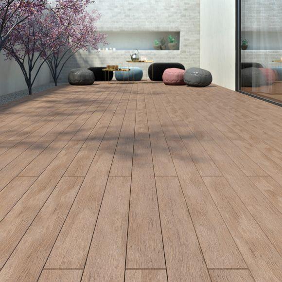 Imagen suelo de exterior suelo de madera pucte de leroy - Suelos para banos sin obra ...