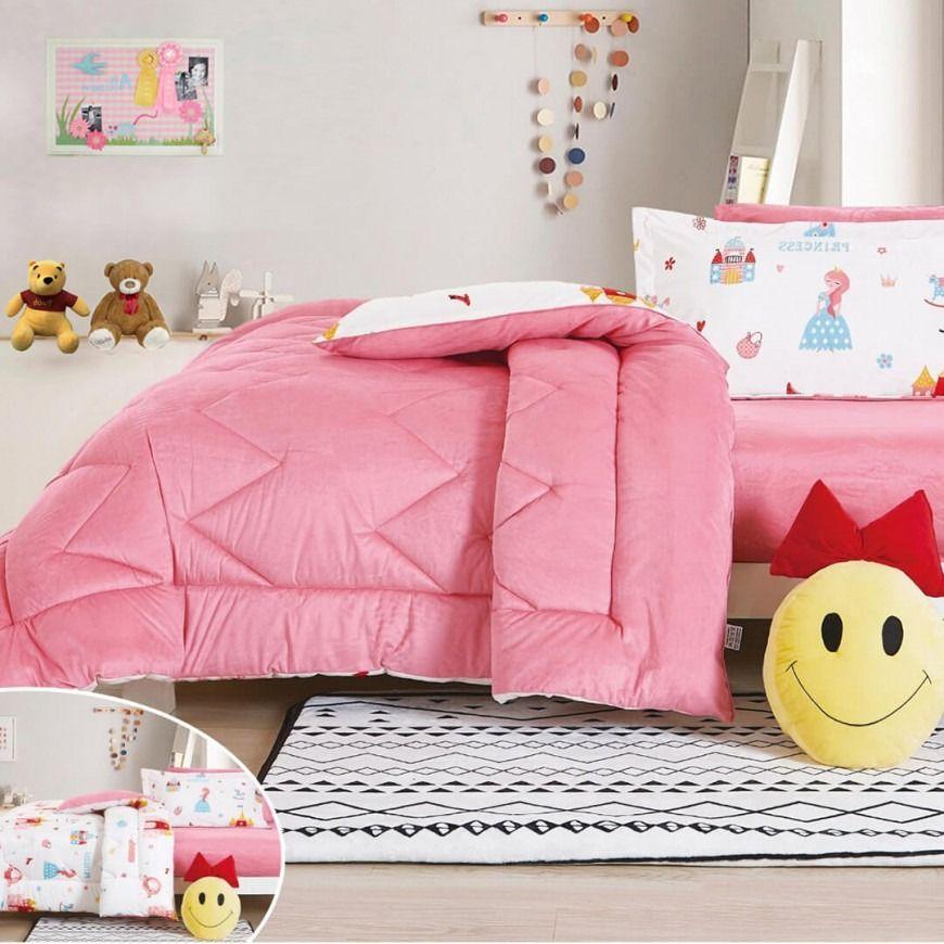 مفرش أطفال رنا شتوي مفرد ونص Winter Bedding Toddler Bed Bean Bag Chair