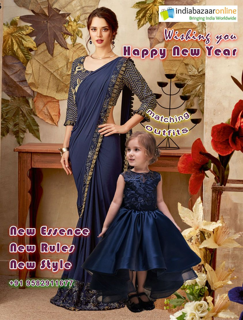b0c1d9a63a HappyNewYear2019 #MatchingOutfits #MotherDaughterOutfits ...