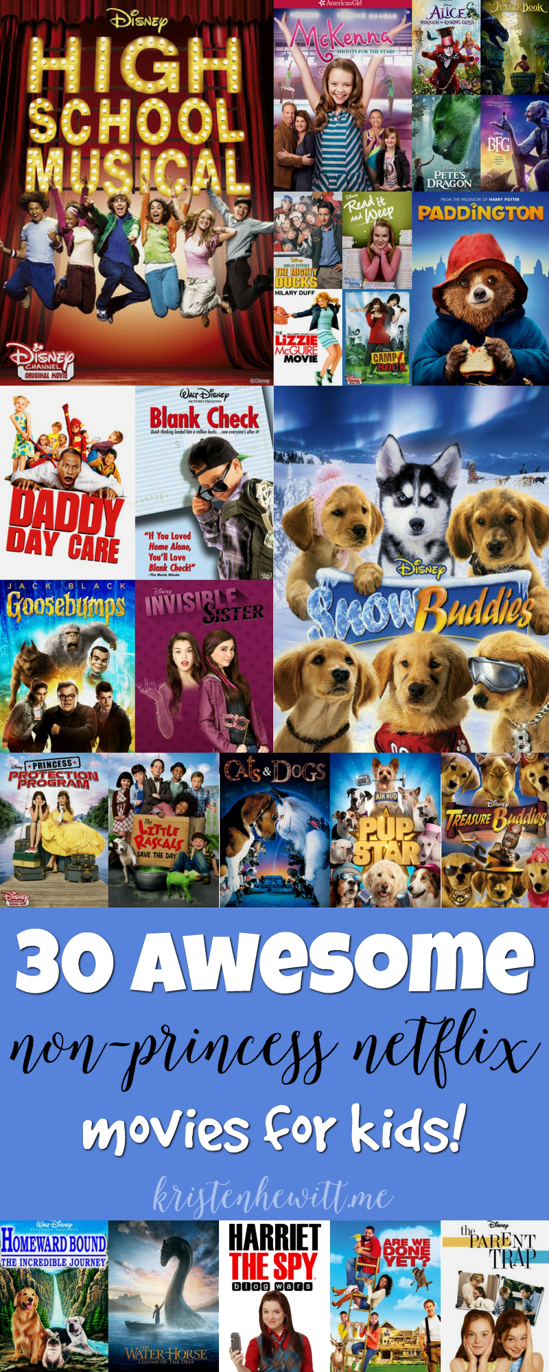 30 Awesome NonPrincess Netflix Movies for Kids Netflix