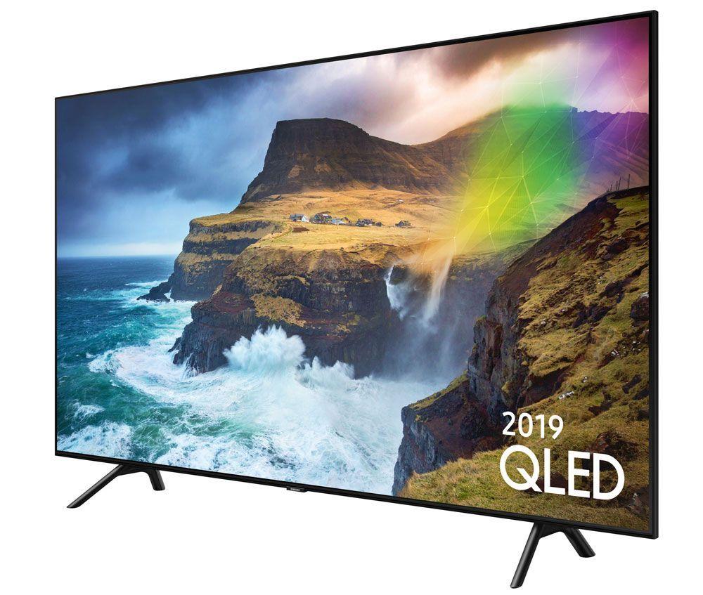 The Samsung QE55Q70RA 55 Inch Smart HDR 4K Ultra HD QLED TV offers