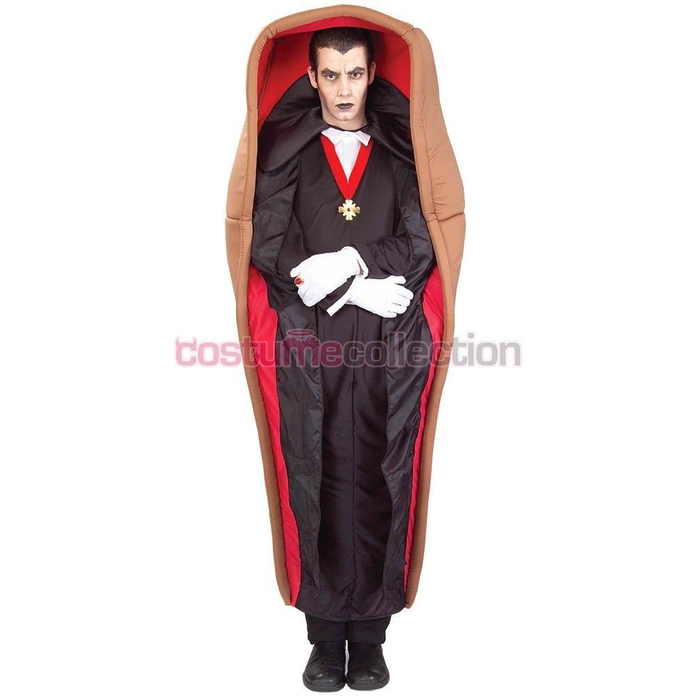 Count Dracula Coffin Box V&ire Costume  sc 1 st  Pinterest & Count Dracula Coffin Box Vampire Costume | Halloween | Pinterest ...