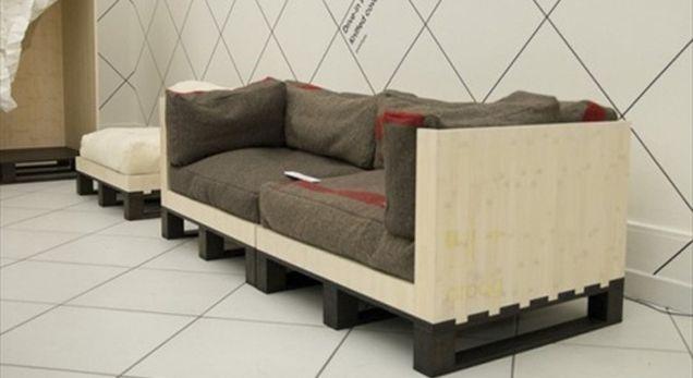 Ideas para hacer muebles con palets.