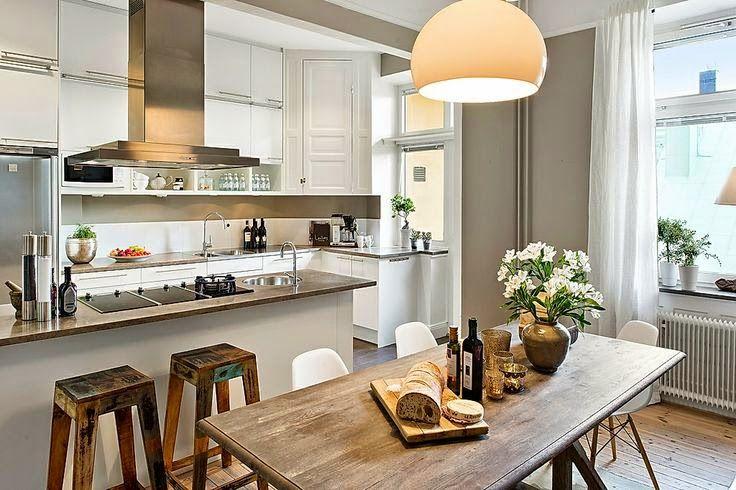 Tendência no décor das cozinhas