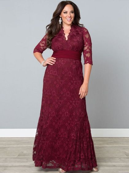 Vintage Style 1940s Plus Size Dresses | Sirens and Lace dress