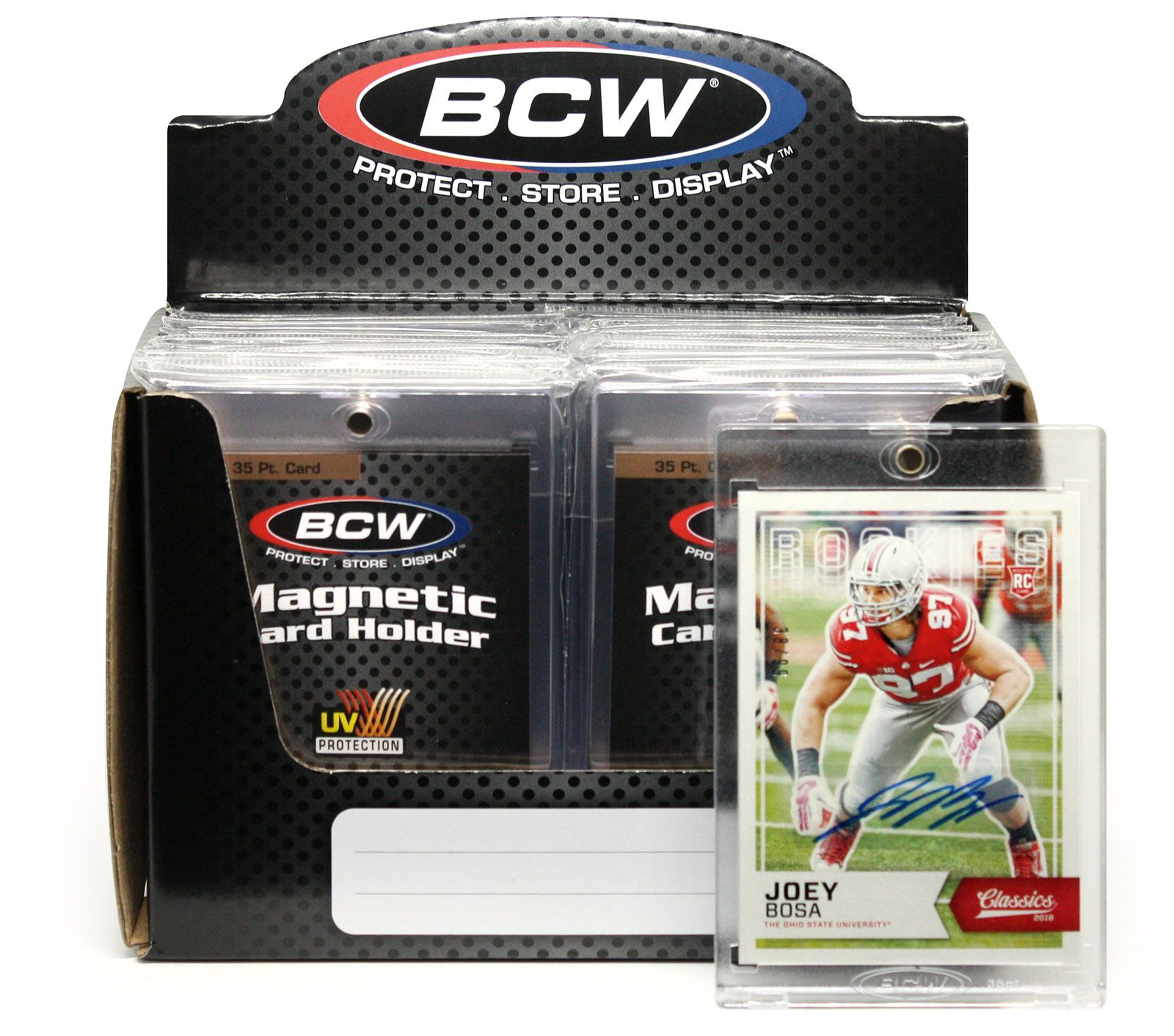 Bcw Magnetic Card Holders Are 2 Piece Design Holders That