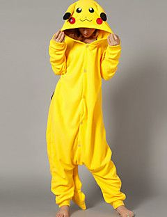 Kigurumi Pyjama Pika Pika Gympak Onesie Festival Feestdagen Animal  Nachtkleding Halloween Geel Patchwork Fleece Kigurumi Voor Unisex – EUR €  39.19 1dee863eb