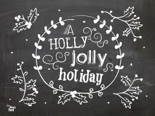 20 Beautiful And Free Holiday Desktop Wallpapers Holiday Wallpaper Computer Wallpaper Desktop Wallpapers Chalkboard Wallpaper