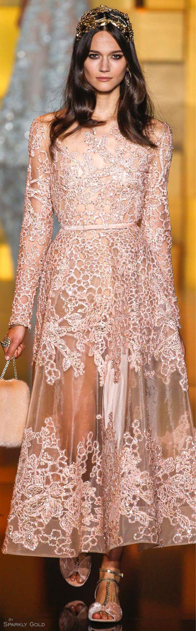 Moderno Vestido De Novia De Elie Saab Regalo - Colección del Vestido ...
